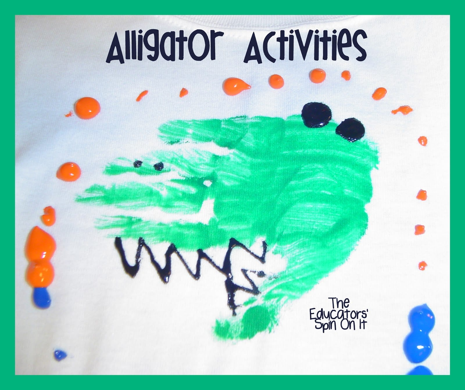 Alligator Crafts And Activities For After School Fun