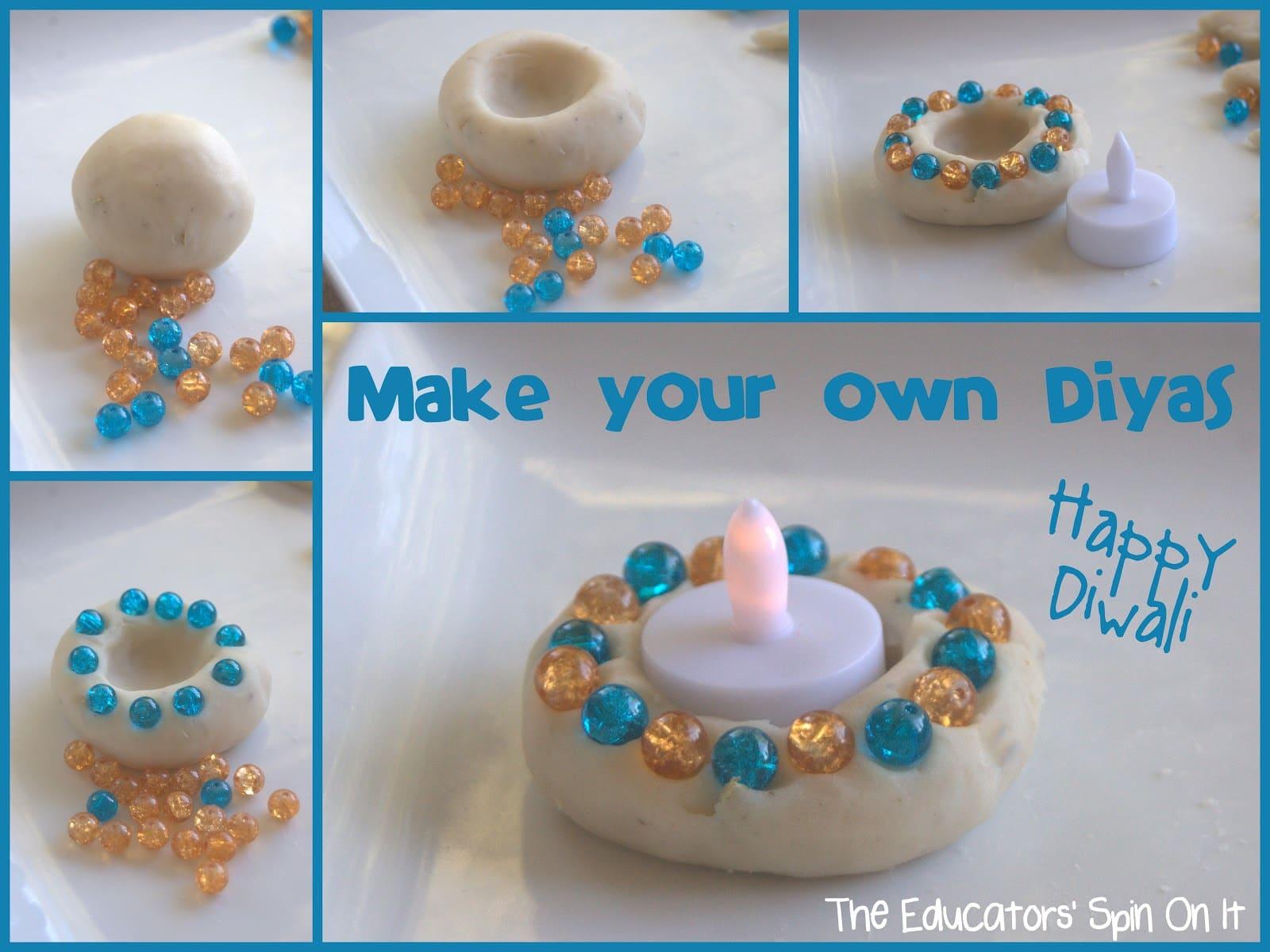 Make Your Own Diyas For Diwali