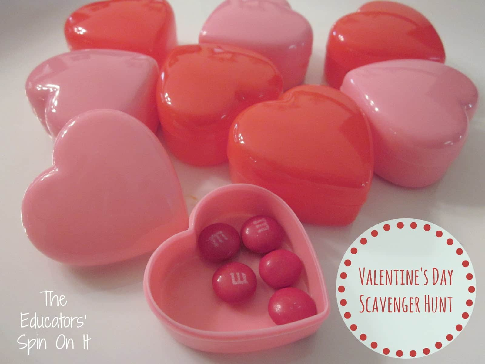 Valentine S Day Scavenger Hunt With Free Printables