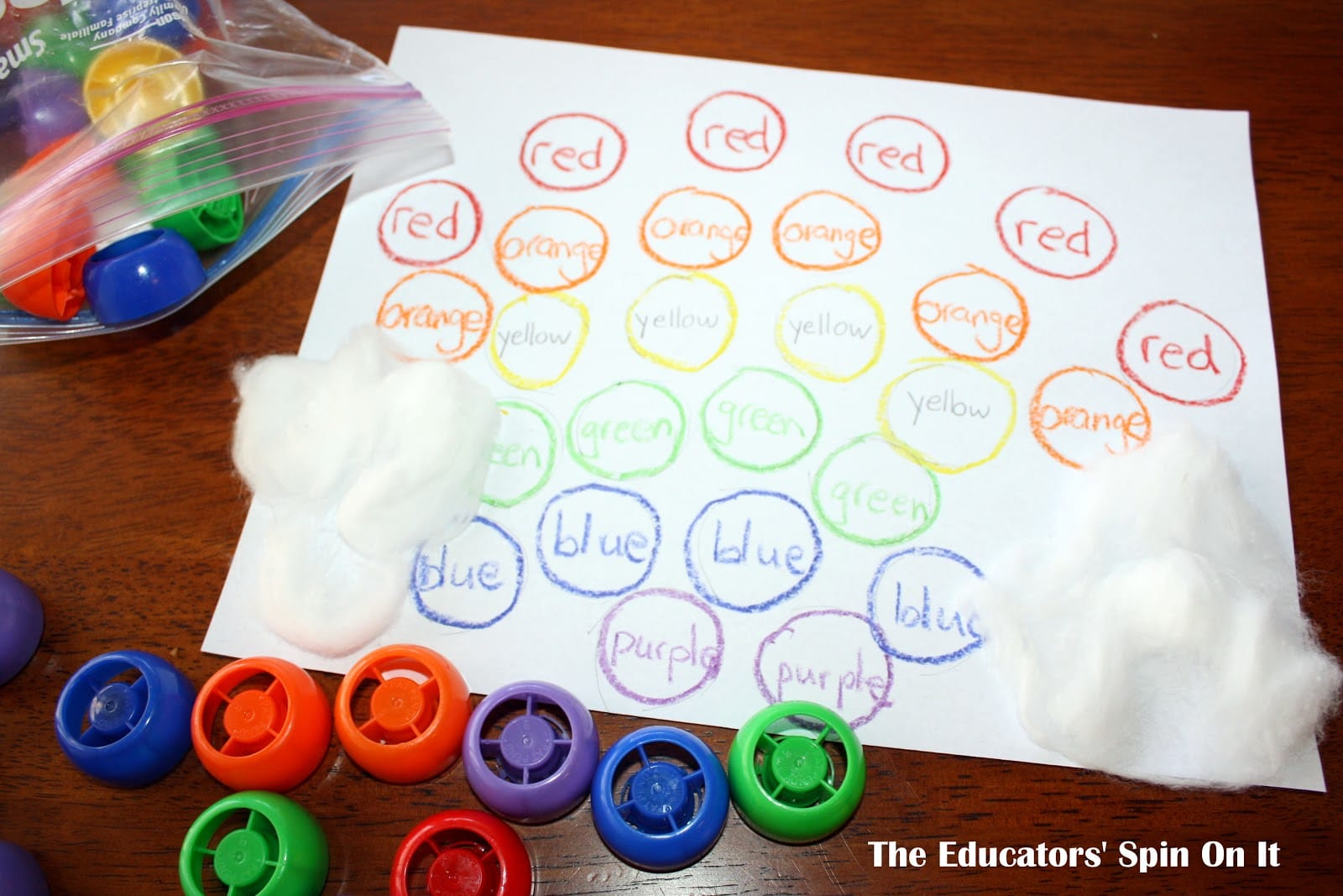 Learning To Read Color Words With The Rainbow