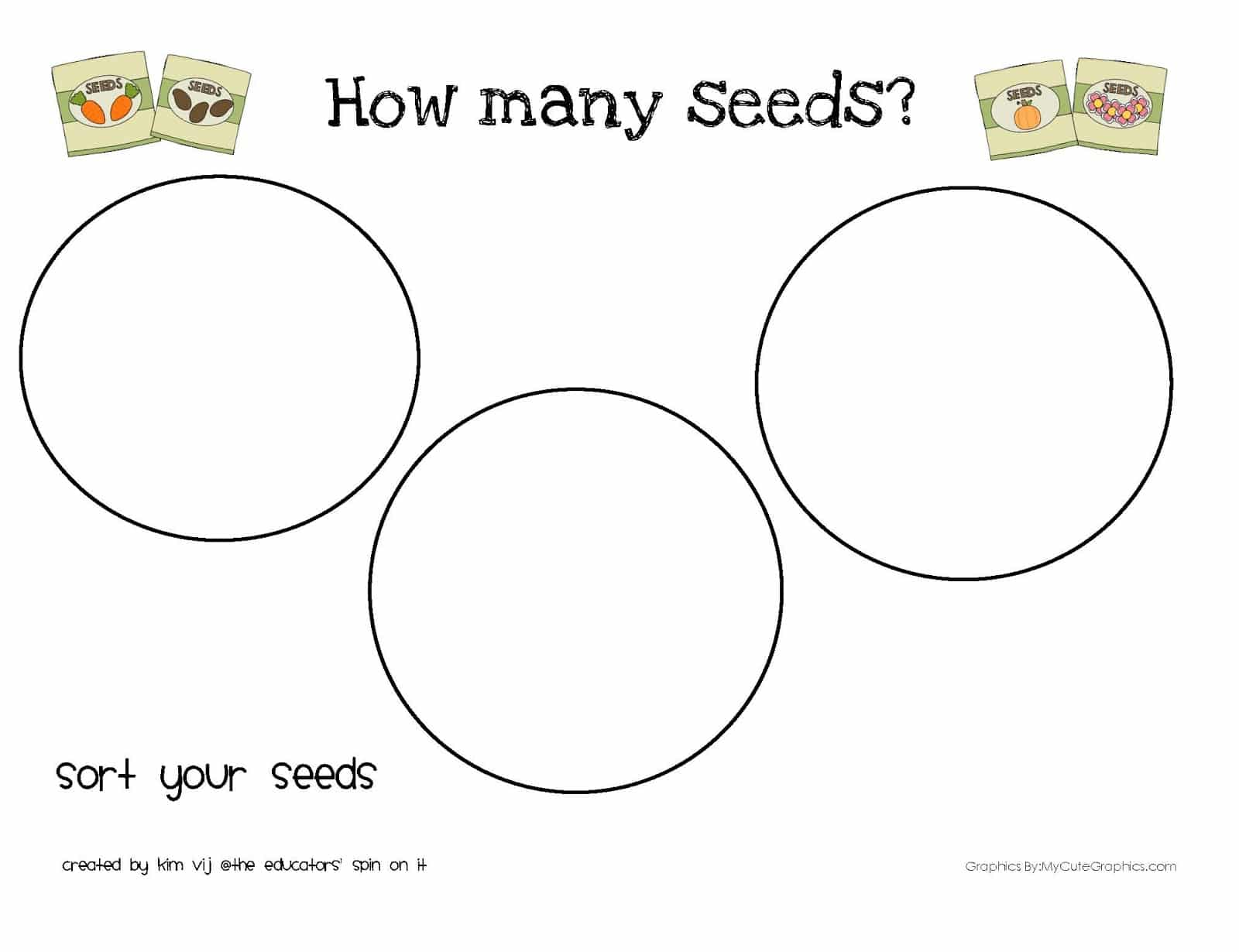 Printable Seed Activities Inspired By The Tiny Seed By