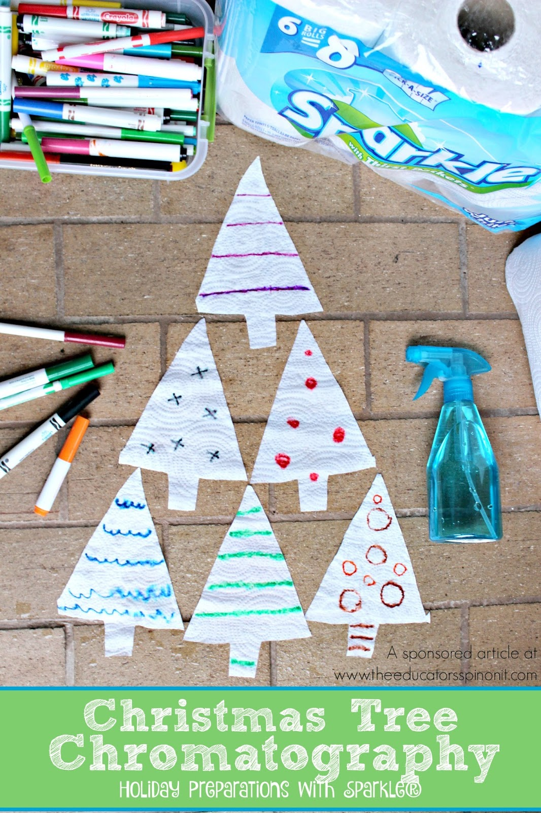 Christmas Tree Chromatography Holiday Preparations With