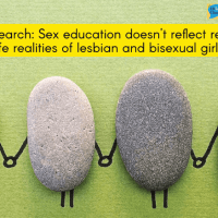 Sex education doesn't reflect real-life realities of lesbian and bisexual girls