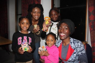 Sankofa Boxes a hit with a kids!