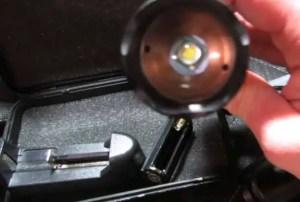Shadowhawk X800 flashlight bulb