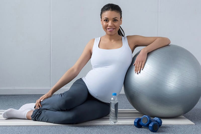 3 Simple Exercises Pregnant Women Can Do At Home.