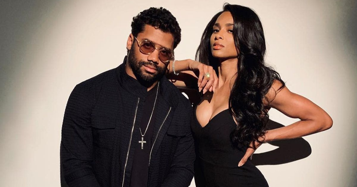 Ciara and her hubby Russell Wilson practiced celibacy before getting married. Photo: Getty Images.