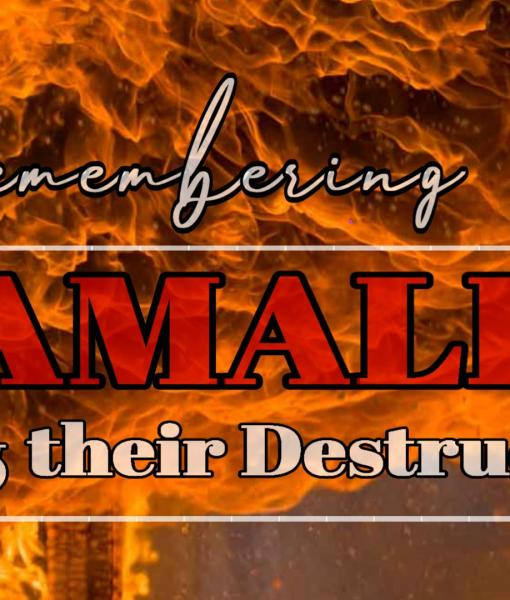 Remembering Amalek and their Destruction