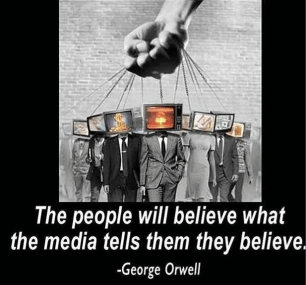 Orwell media will tell people