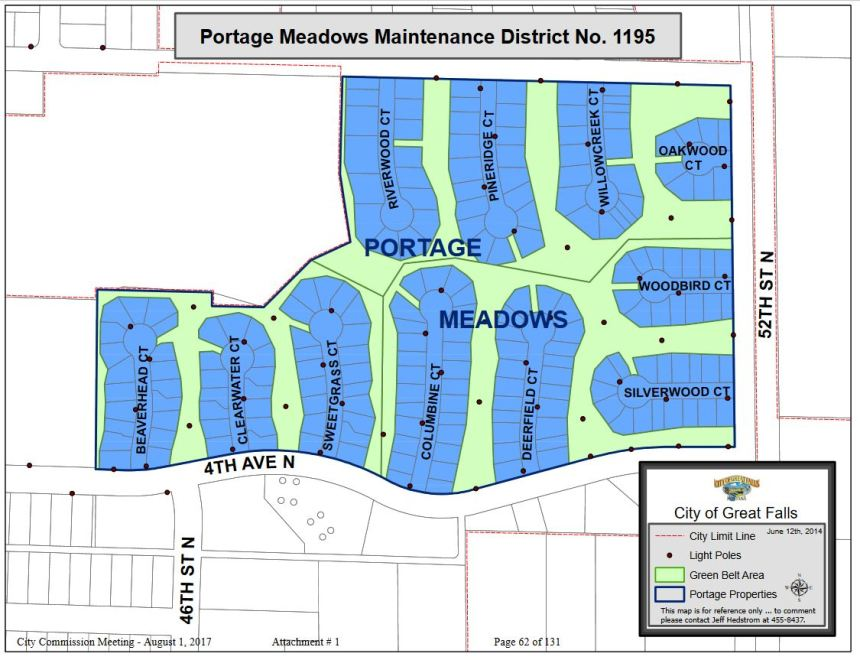 portage meadows district