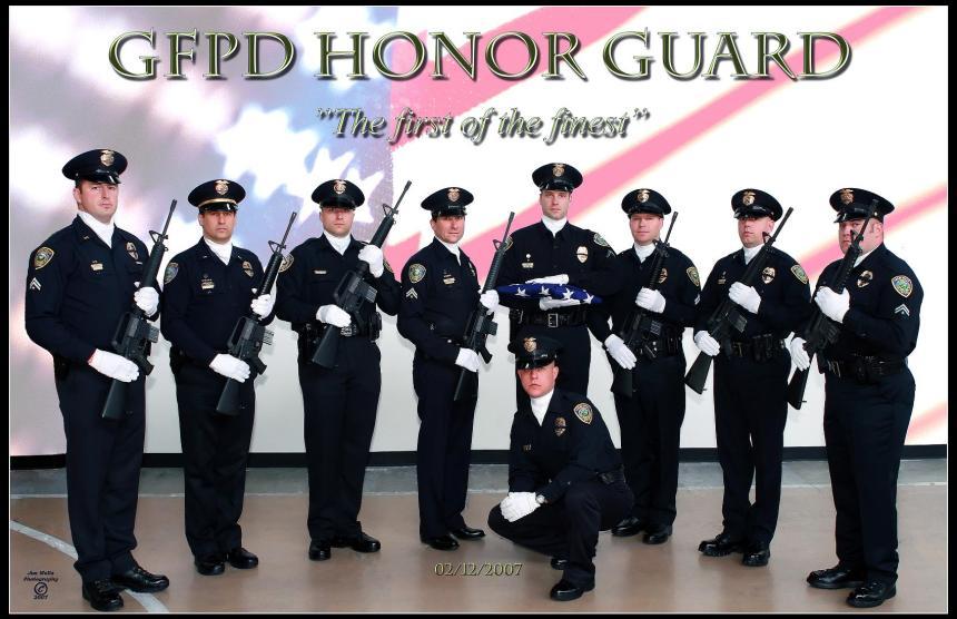 GFPD HONOR GUARD 2007 smaller