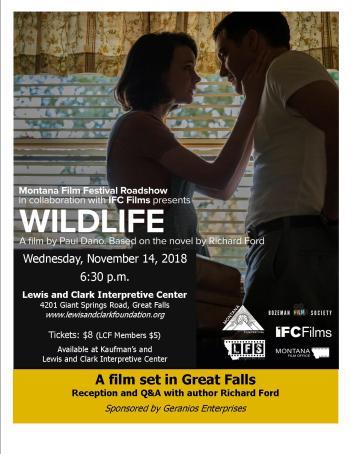 Wildlife Film Poster 2018