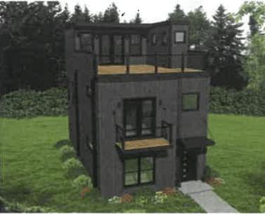 geranios residential rendering