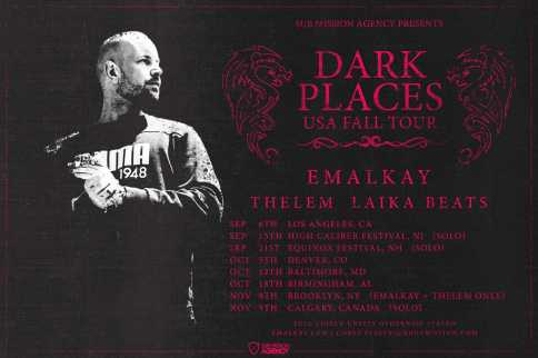 Emalkay Dark Places Tour Merry Jane