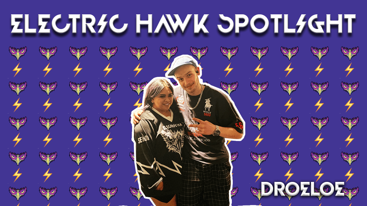 DROELOE Electric Hawk Spotlight