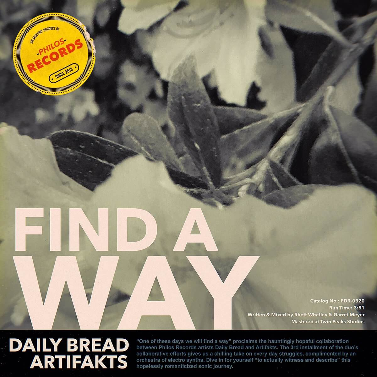 "Daily Bread and Artifaks ""Find A Way"" Electric Hawk"
