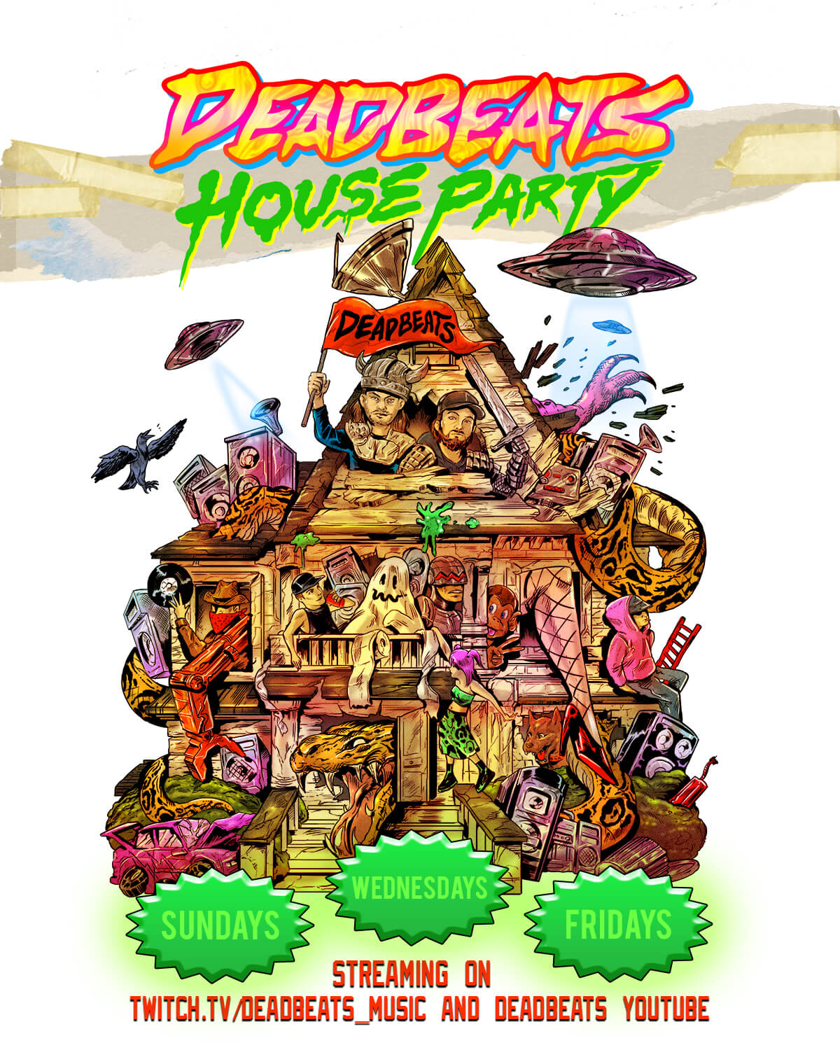 DeadBeats House Party