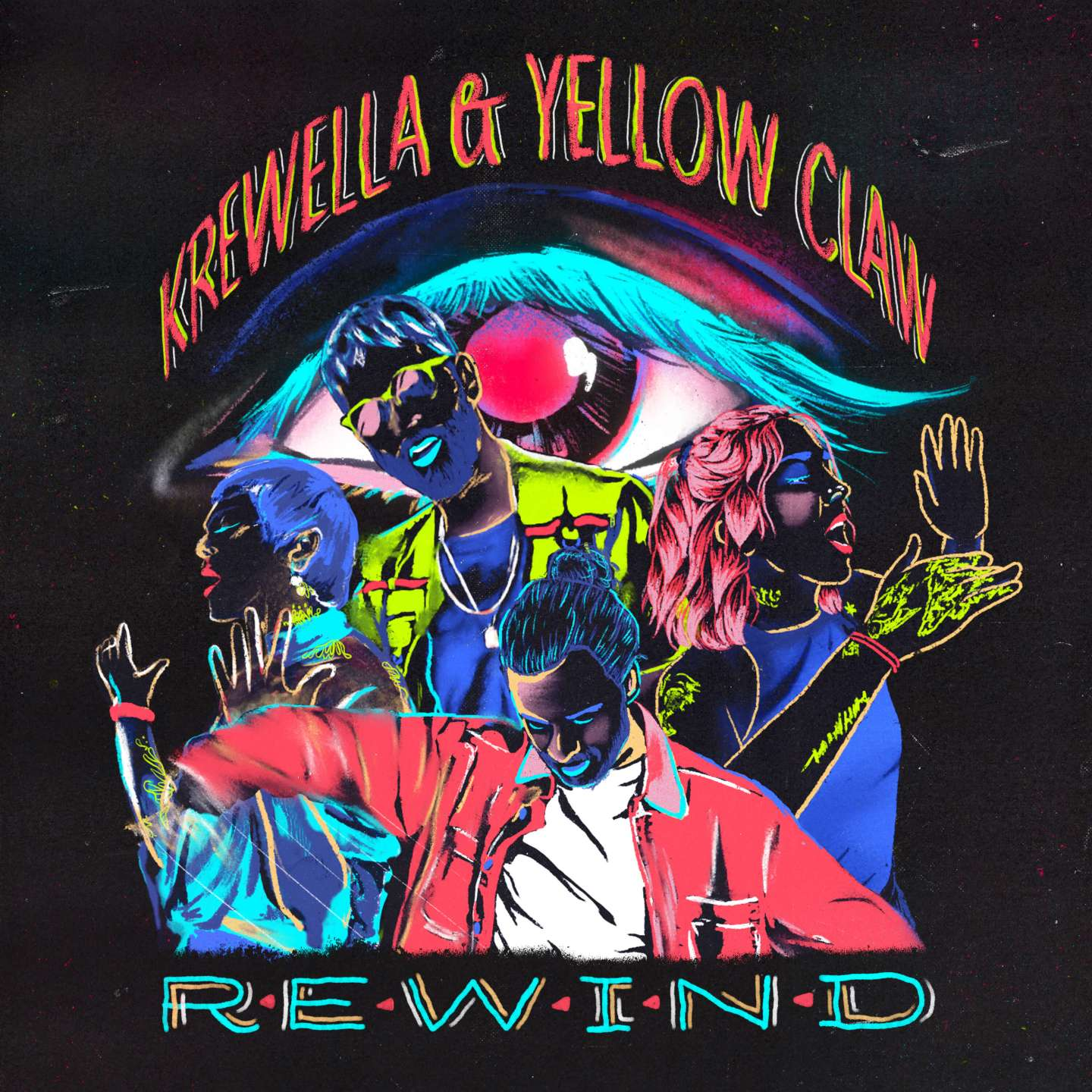yellow claw krewella rewind