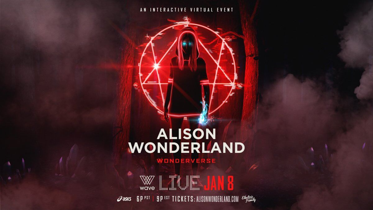Alison Wonderland Wonderverse Electric Hawk