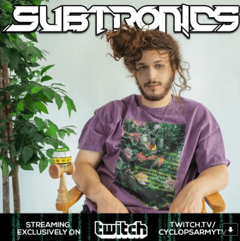 Subtronics Twitch Partnership