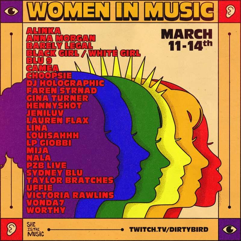 Women in Music digital festival