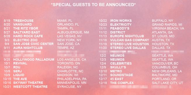 MitiS Tour Dates Electric Hawk