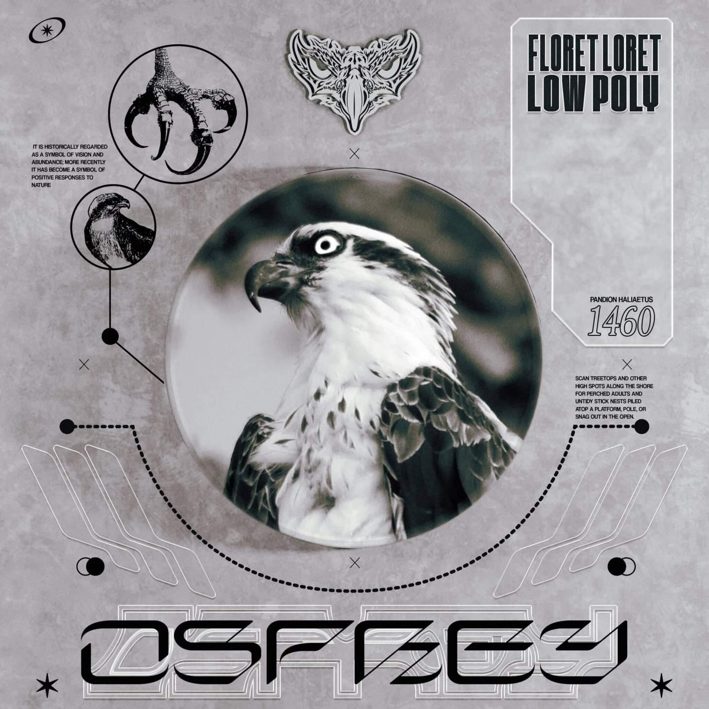 Floret Loret Low Poly Osprey