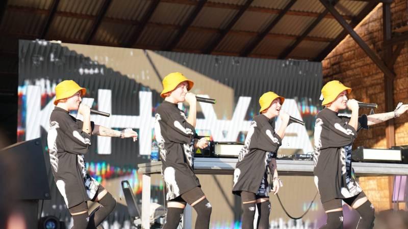 Khiva performing