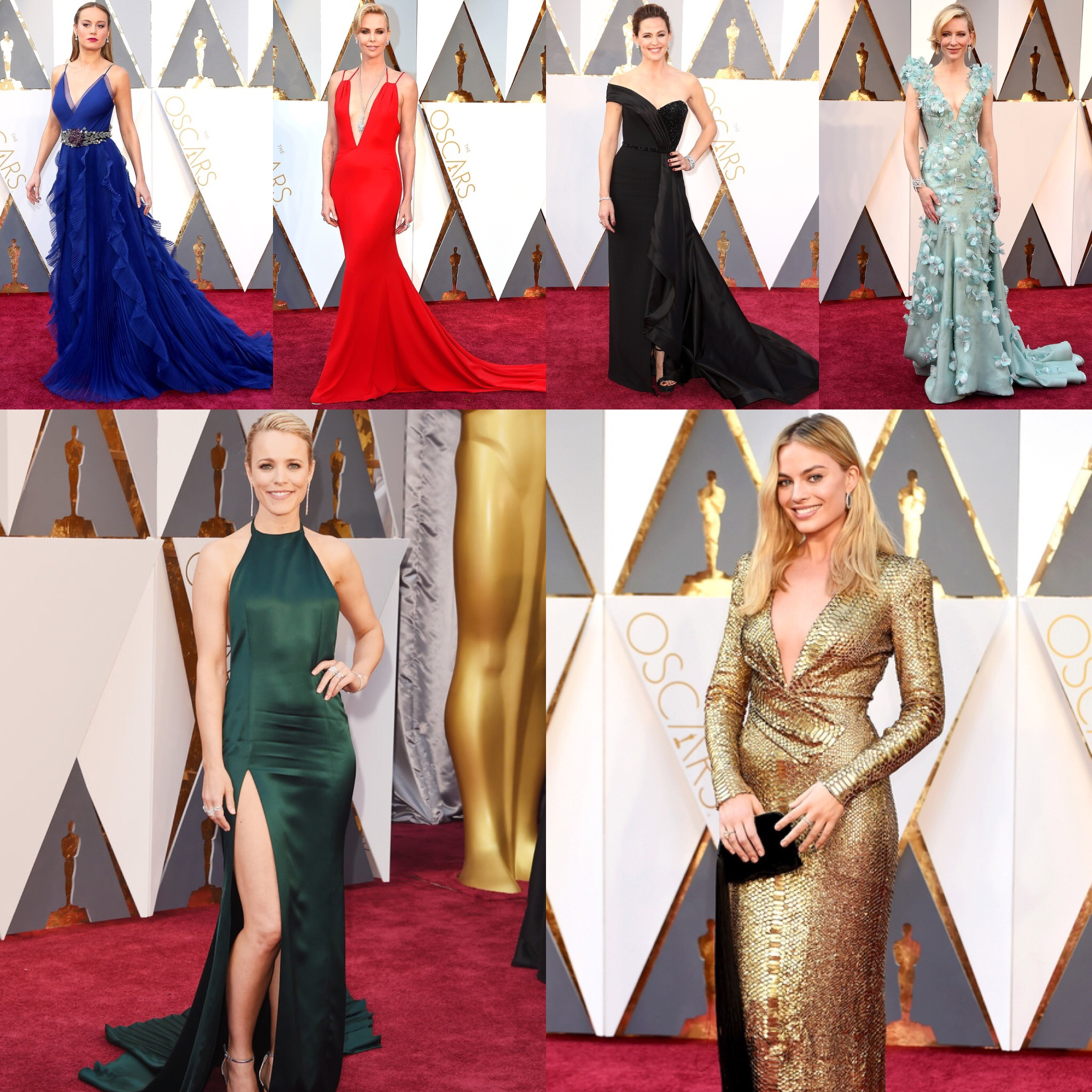 TEN OSCARS 2016 RED CARPET DRESSES I WOULD WEAR