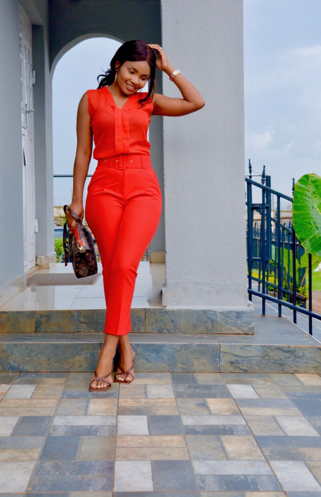 bold red