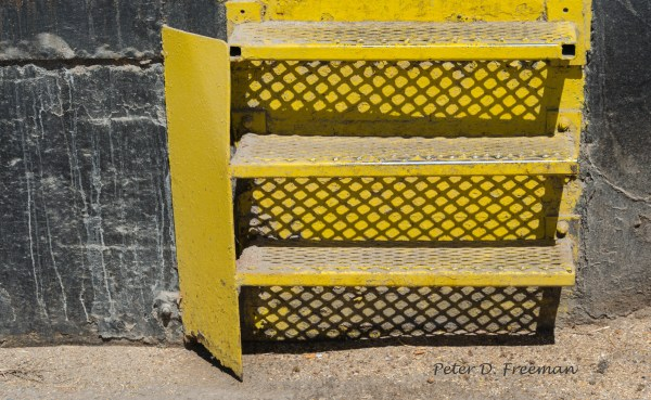 Yellow Step Shadows