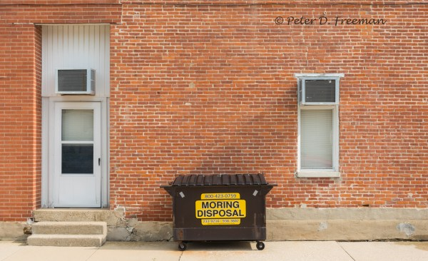 Brown Dumpster