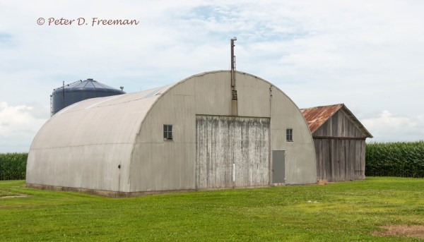 Quonset Equipment Shed