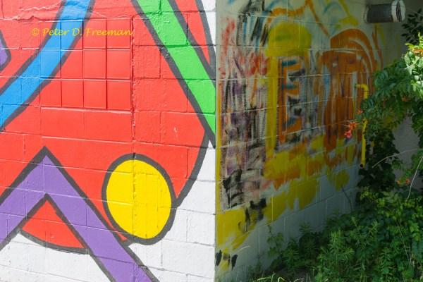 Mural v. Graffiti