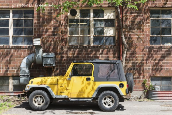 Yellow Jeep