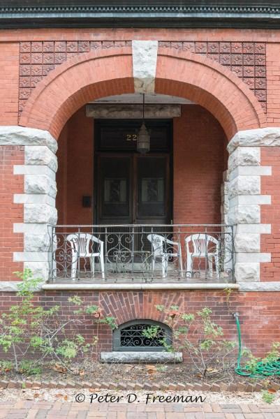 Porch at 226