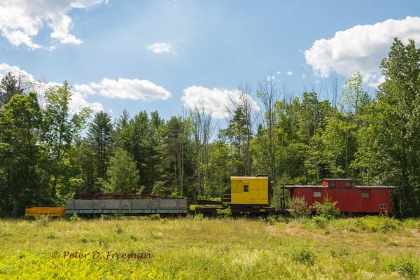 train-crane