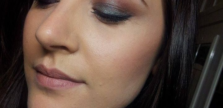 Make-up of the day #2 – Blue Brown