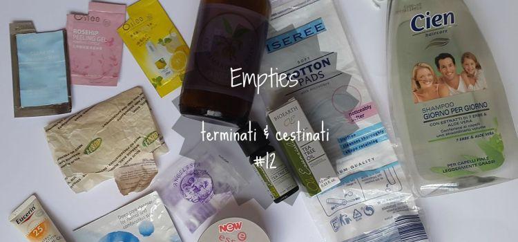 Empties | terminati&cestinati #12