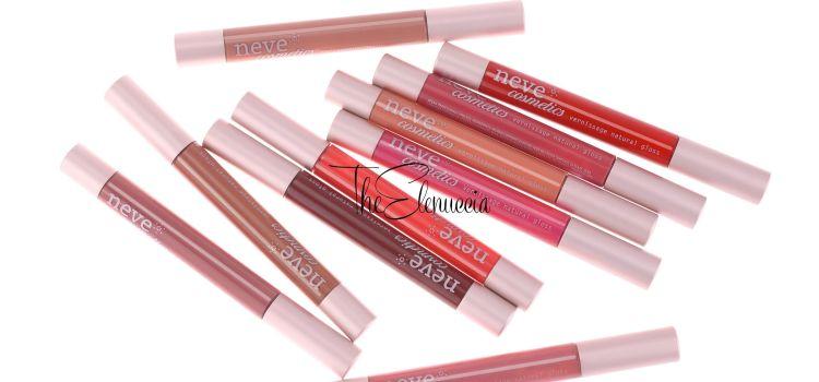 CS | Vernissage i nuovi gloss Neve Cosmetics