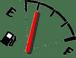 car fuel meter