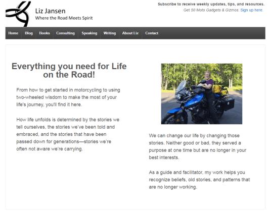Liz Jansen Blog