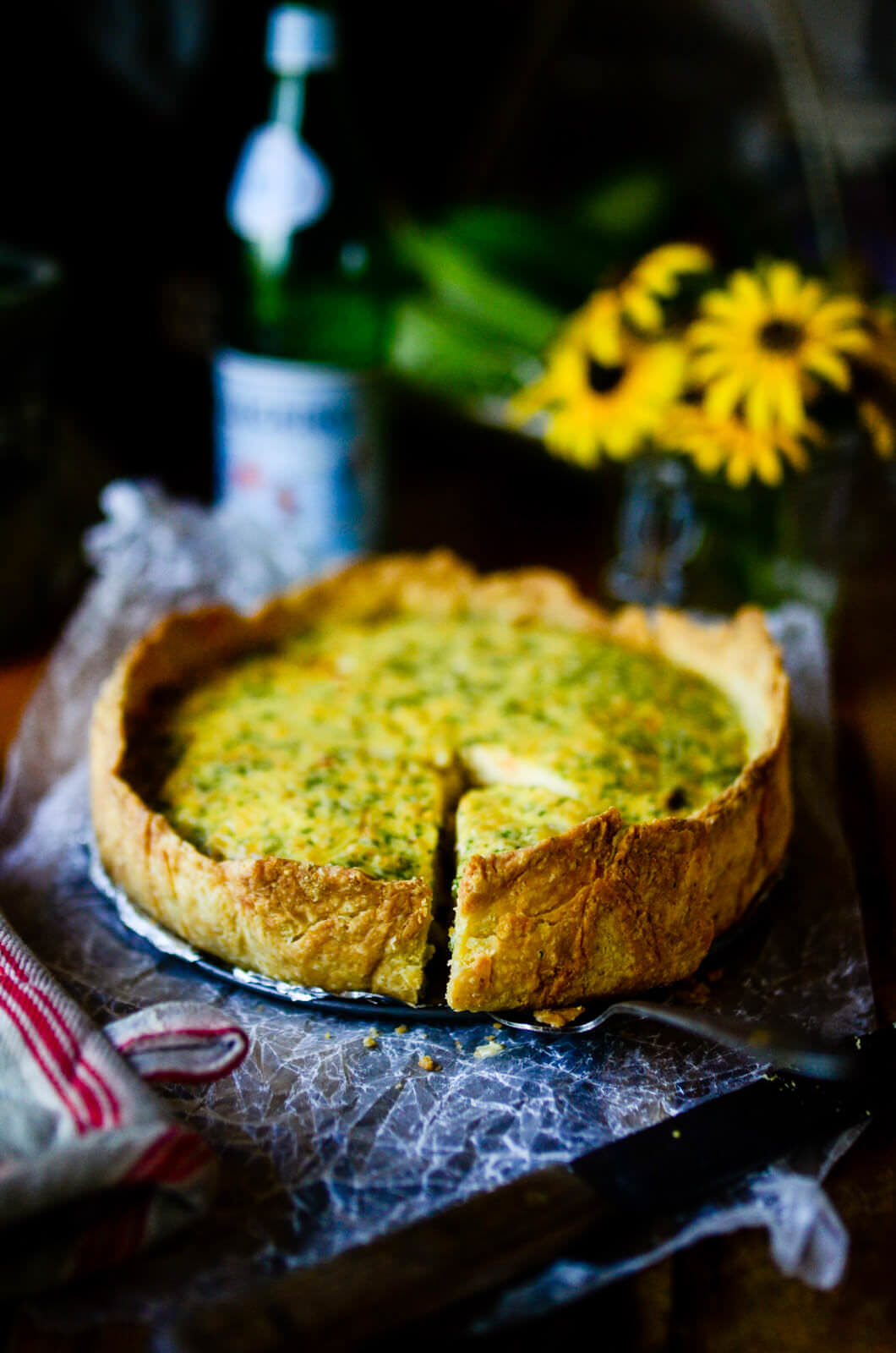 Summer Quiche The Elliott Homestead