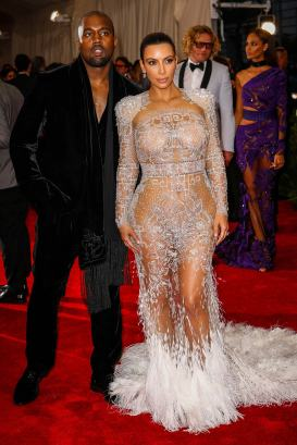 Kim Kardashian West in Roberto Cavalli by Peter Dundas