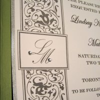 Throwback DIY: Wedding Invitations