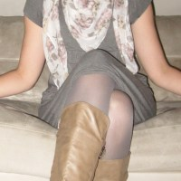 OOTD: Grey Tights