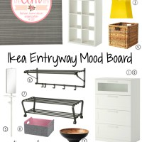 Ikea Entryway Mood Board