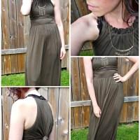 OOTD: Halter Maxi Dress