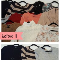 Wardrobe Planning: Sweaters