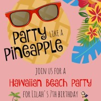 Hawaiian Party Planning